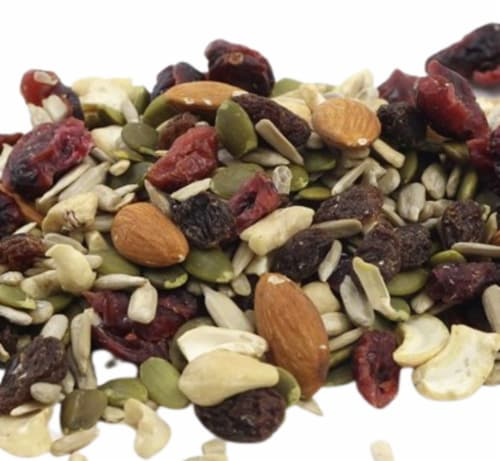Torn & Glasser Organic Cranberry Trail Mix Perspective: front