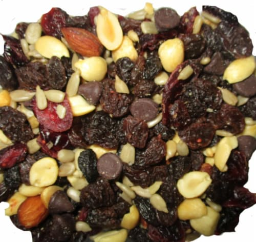 Torn & Glasser Dark Chocolate Cranberry Trail Mix Perspective: front