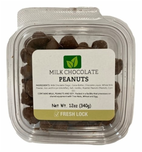 Torn & Glasser Milk Chocolate Peanuts Perspective: front