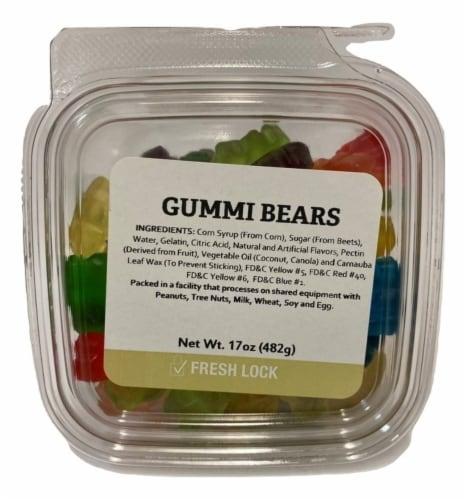Torn & Glasser 12 Flavors Gummi Bears Perspective: front
