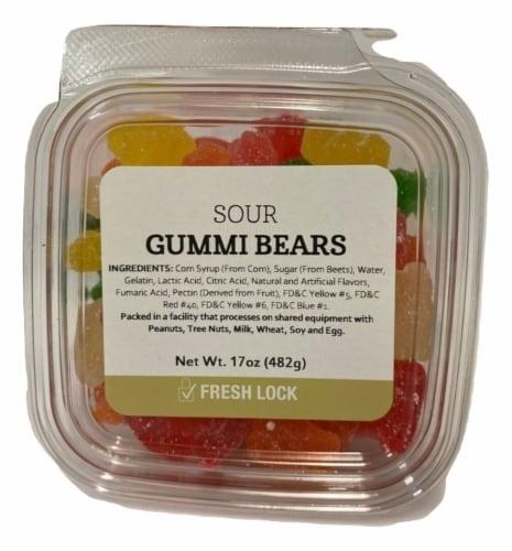 Torn & Glasser Sour Gummi Bears Perspective: front