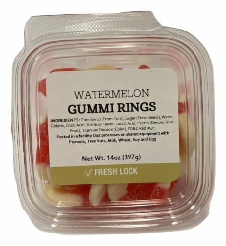Torn & Glasser Watermelon Gummi Rings Perspective: front