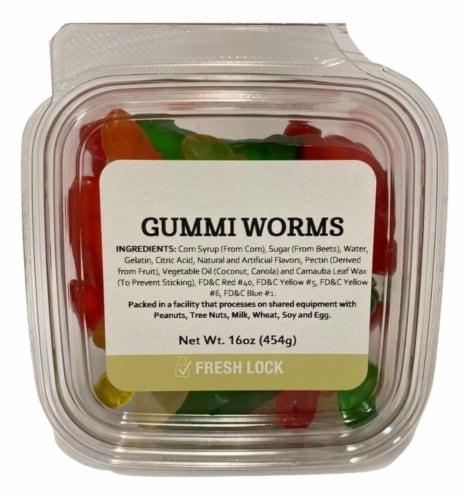 Gummi Worms Perspective: front