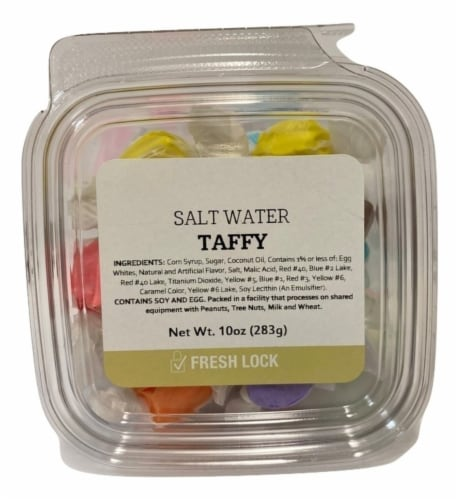 Salt Water Assorted Taffy Perspective: front