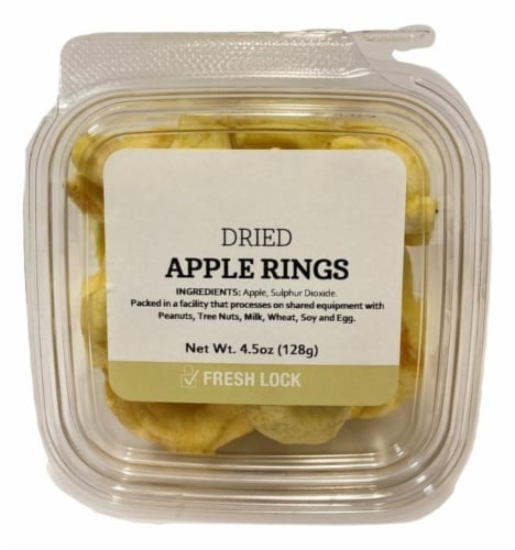 Torn & Glasser Dried Apple Rings Perspective: front