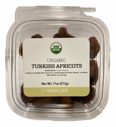 Torn & Glasser Organic Turkish Apricots Perspective: front