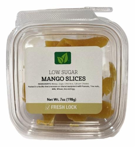 Torn & Glasser Low Sugar Mango Slices Perspective: front
