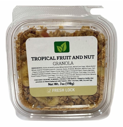 Torn & Glasser Tropical Fruit and Nut Granola Perspective: front
