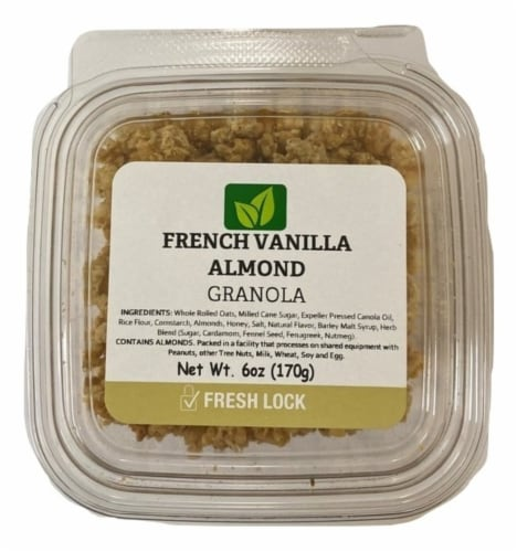 Torn & Glasser French Vanilla Almond Granola Perspective: front