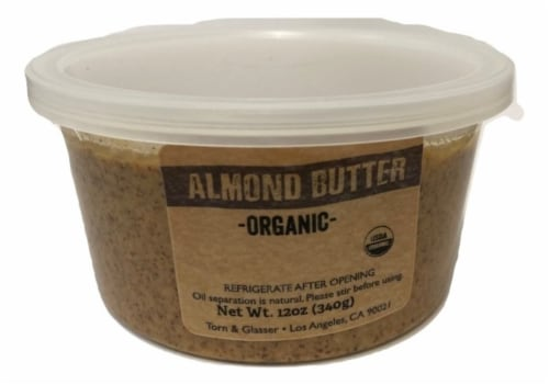 Torn & Glasser Organic Almond Butter Perspective: front