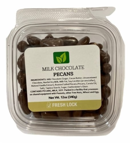 Torn & Glasser Milk Chocolate Covered Pecans Perspective: front