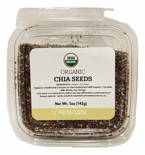 Torn & Glasser Organic Chia Seeds Perspective: front