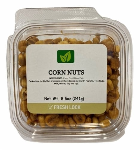 Torn & Glasser Toasted Corn Nuts Perspective: front