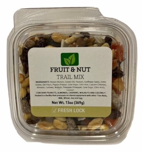 Torn & Glasser Fruit & Nut Trail Mix Perspective: front