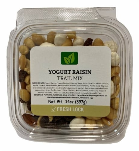 Torn & Glasser Yogurt Raisin Trail Mix Perspective: front
