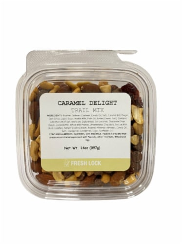 Torn & Glasser Caramel Delight Trail Mix Perspective: front
