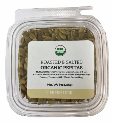 Torn & Glasser Roasted & Salted Organic Pepitas Perspective: front