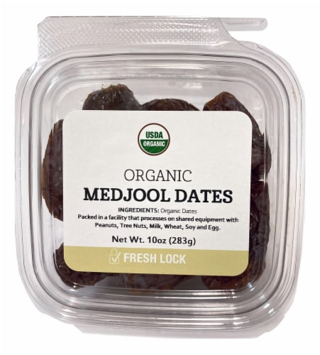 Torn & Glasser Organic Medjool Dates Perspective: front