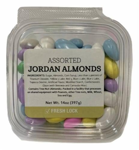 Torn & Glasser Assorted Jordan Almonds Perspective: front