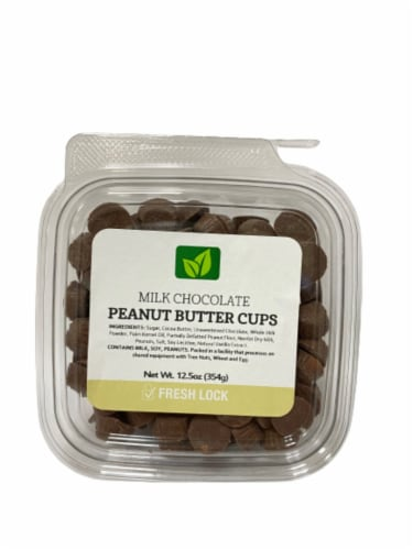 Torn & Glasser Milk Chocolate Peanut Butter Cups Perspective: front