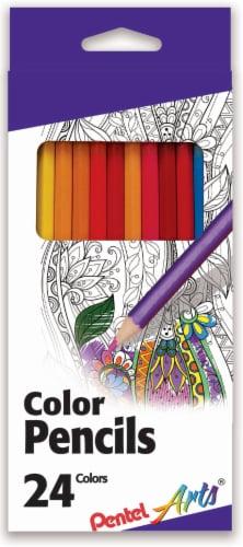 Pentel Arts Color Pencils Perspective: front