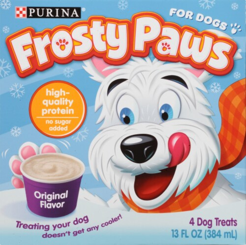 Frosty Paws Original Frozen Dog Treats Perspective: front