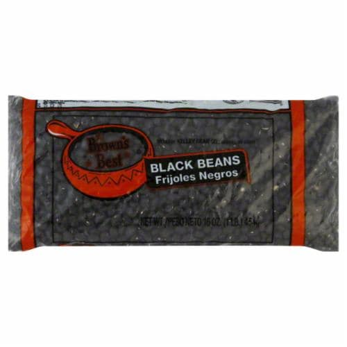 Browns Best Black Beans Perspective: front