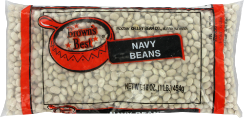 Brown's Best Navy Beans Perspective: front