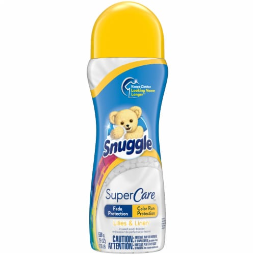Snuggle SuperCare Lilies & Linen In-Wash Scent Booster Perspective: front