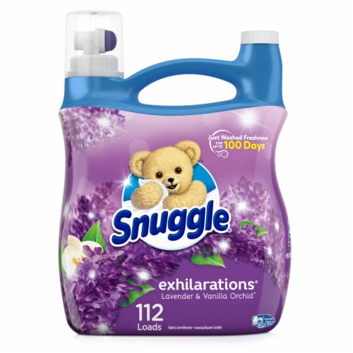 Sunggle Exhilarations White Lavender & Sandalwood Liquid Fabric Conditioner Perspective: front