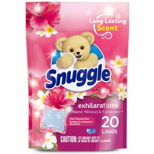 Snuggle Scent Boosters Island Dreams Concentrated Scent Pacs Perspective: front