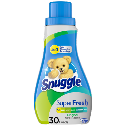 Snuggle Plus SuperFresh Original Fabric Conditioner Perspective: front