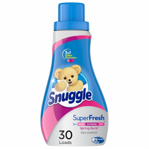 Snuggle Plus SuperFresh Spring Burst Fabric Conditioner Perspective: front