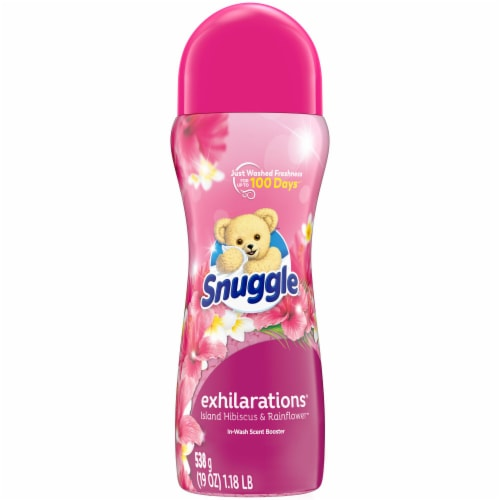 Snuggle Exhilarations Island Hibiscus & Rainflower Laundry Wash In-Scent Booster Perspective: front