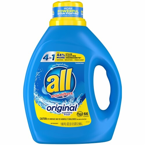 All Stainlifters Original Liquid Laundry Detergent Perspective: front