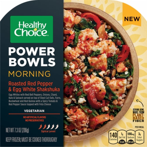 Healthy Choice Power Bowls Roasted Red Pepper & Egg Shakshuka Perspective: front