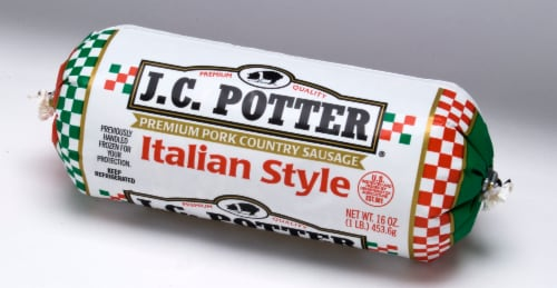 J.C. Potter Italian Sausage Roll Perspective: front
