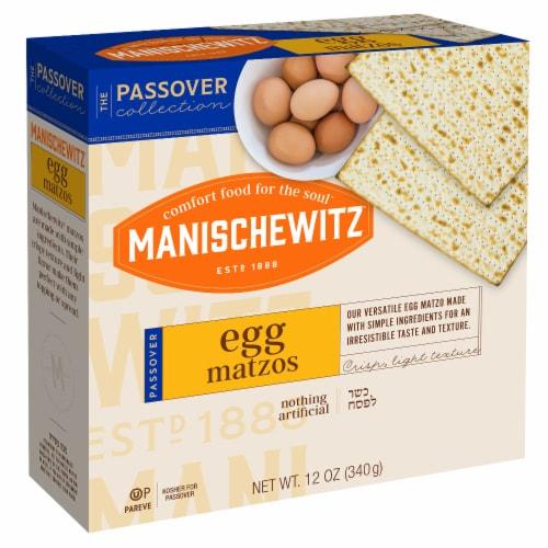 Manischewitz Egg Matzo Perspective: front