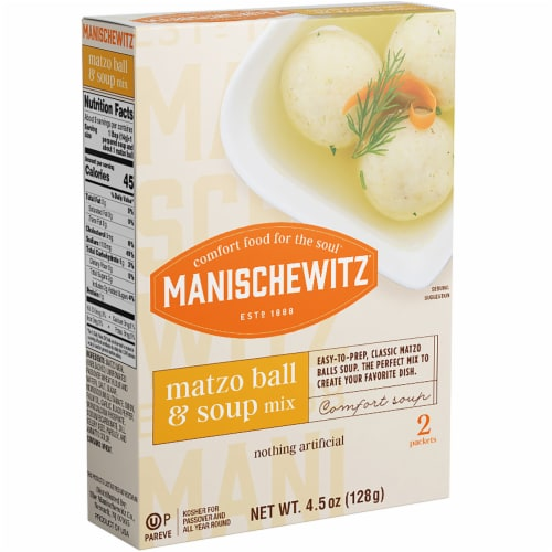 Manischewitz Matzo Ball & Soup Mix Perspective: front