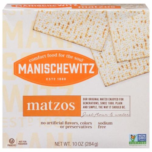 Manischewitz Unsalted Matzos Perspective: front