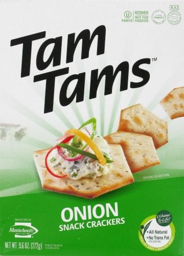 Manischewitz Onion Tam Tam Perspective: front