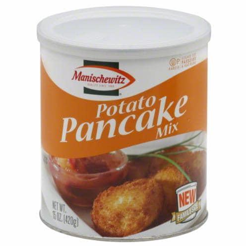 Manischewitz Potato Pancake Mix Perspective: front