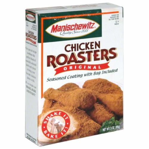 Manischewitz Original Roasters for Chicken Seasoned Coating Mix Perspective: front
