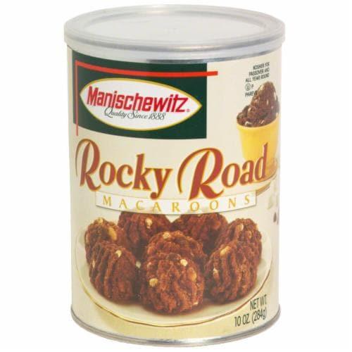 Manischewitz Rocky Road Macaroons Perspective: front