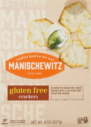 Manischewitz Gluten Free Crackers Perspective: front