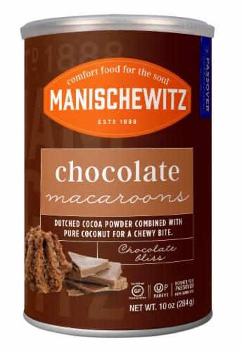 Manischewitz Chocolate Macaroons Perspective: front