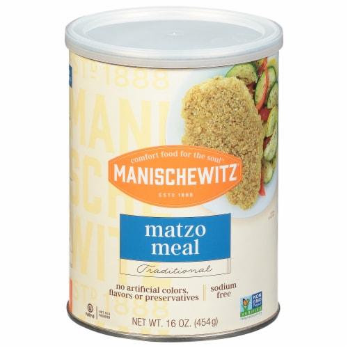 Manischewitz Matzo Meal Perspective: front