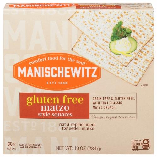 Manischewitz Gluten Free Matzo Style Squares Perspective: front