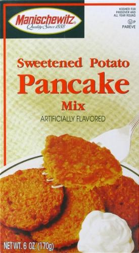 Manischewitz Sweet Potato Pancake Mix Perspective: front