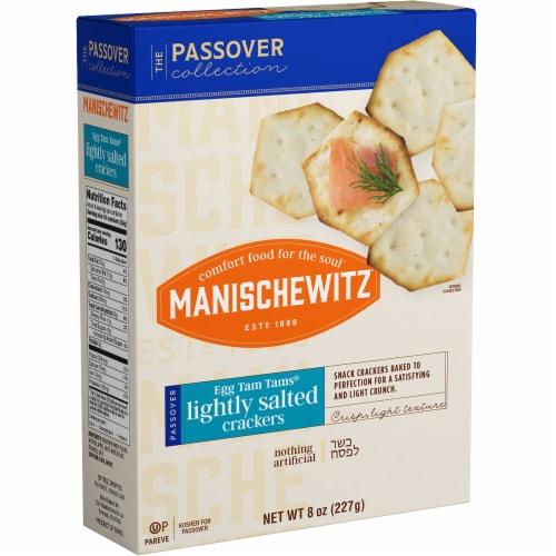Manischewitz Passover Tam Tam Original Crackers Perspective: front